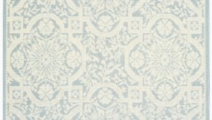 Light Blue and Cream area Rugs Nourison Aruba Arb02 Light Blue Cream area Rug