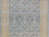 Light Blue and Cream area Rugs oriental Hand Knotted Wool Light Blue Cream area Rug