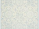 Light Blue and Cream Rug Nourison Aruba Arb02 Light Blue Cream area Rug