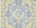 Light Blue and Gold area Rug Mcnett Light Blue Gold area Rug