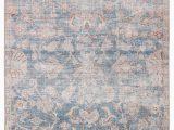 Light Blue and Pink Rug Bardia Indoor Outdoor oriental Blue & Light Pink Rug – Burke