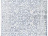Light Blue and White area Rug Lumineer Floral Blue & White area Rug In 2020