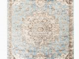 Light Blue and White area Rug Romance Collection Rugs Light Blue White Multi Colored Washed oriental Design Premium soft area Rug 3 X 10 Runner