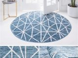 Light Blue Circle Rug 10 Ideas for Including Blue Rugs In Any Interior