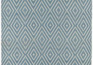 Light Blue Geometric Rug Diamond Geometric Hand Knotted Light Blue Indoor Outdoor area Rug