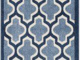 Light Blue Geometric Rug Maritza Geometric Light Light Blue Navy area Rug
