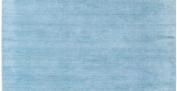 """Light Blue Modern Rug Rugvista Handloom Fringes Light Blue Rug 5 3""""x7 7"""" 160×230 Cm Modern Carpet"""