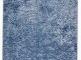 Light Blue Shag area Rug Planas Hand Tufted Shag Light Blue Rug