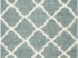 Light Blue Shag area Rug Safavieh Dallas Shag Sgd257c Light Blue Ivory area Rug