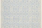 Light Blue Wool area Rug Safavieh Cambridge Cam123a Light Blue Ivory area Rug