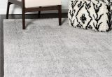 Light Grey area Rug 8×10 Light Gray 8 X 10 solid Shag Rug