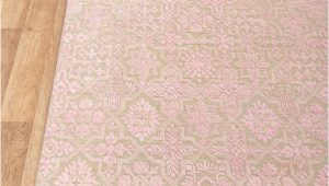 Light Pink area Rug 8×10 8×10 Pink area Rug Handmade Wool Transitional Design Light Pink Beige 6816 242×300 Cms