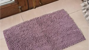 Light Purple Bath Rug Bath Mats In Microfiber for Bathroom Home Door Living or Bedroom by Avira Home Light Purple
