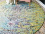 Lime Green Round area Rug Green 4 X 4 Arte Round Rug area Rugs