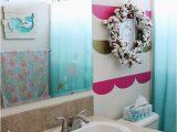 Little Mermaid Bathroom Rug Mermaid Inspired Little Girl Bathroom Girl Loves Glam