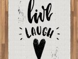 Live Laugh Love area Rugs Amazon Ambesonne Live Laugh Love area Rug Hand Drawn
