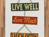 Live Laugh Love area Rugs Amazon Ambesonne Live Laugh Love area Rug Live Well