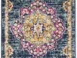 "Living Room area Rugs Amazon Ksana soft Runner Rug 2 2"" X 4 area Rug Luxury Carpets for Living Room Bedroom and Hallway Azurite Phlox Pink"