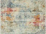 Lonerock Cream Blue area Rug Lonerock Cream Blue area Rug