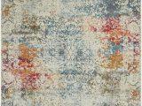 Lonerock Cream Blue area Rug Lonerock oriental Ivory area Rug