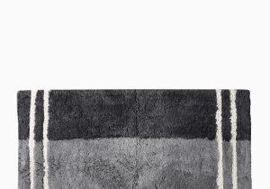 Long Black Bathroom Rug Fairfax Black Bath Rug Black