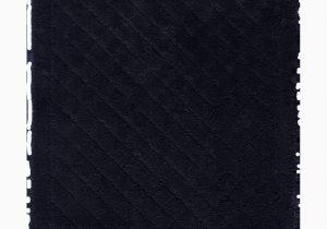 Long Black Bathroom Rug Mayshar Excellent Diamond Rectangle Cotton Non Slip Bath Rug