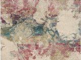 Low Pile White area Rug Nourison Fusion Fss17 White Multicolor Low Pile Shag area Rug nor Fss17 Cream Multi