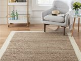 Lowes area Rugs In Store Allen Roth Cooperstown 5 X 8 Natural Ivory Indoor Border Farmhouse Cottage Handcrafted area Rug