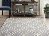 Lowes Living Room area Rugs Allen Roth Shae 8 X 10 Grey Indoor Geometric Mid Century Modern area Rug
