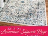 Lowes Living Room area Rugs Big Savings On Safavieh Rugs now Thru May 8 at Lowe S Save
