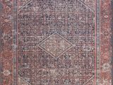 Lucca Red Blue Rug Lf 08 Mh Navy Red