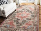 Macys area Rugs 5 X 8 Safavieh Classic Vintage Red and Charcoal 5 X 8 area Rug