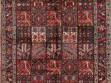 Made by Design area Rugs Consigned Bakhtiari Hand Made Garden Design Persian oriental area Rug 7 X10