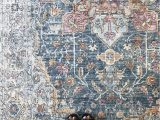 Magnolia Home Ophelia Blue Multi Rug Denim Rose Apricot which Color is Your Favorite In the