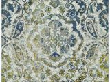 Maples Paisley Floral area Rug Anabranch Paisley Green Blue Yellow Cream area Rug