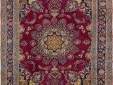 Maroon and Blue Rug Mashad Burgundy Antique 9×12 Large area Rug In 2020 Large