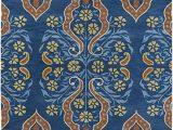 Melange Diamond Blue Woven Cotton Rug Amazon Kaleen Rugs Melange Collection Mlg10 17 Blue