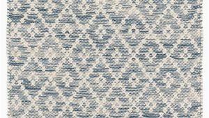 Melange Diamond Blue Woven Cotton Rug Melange Diamond Blue Woven Cotton Rug