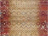 Memory Foam area Rug 8×10 Luxe Weavers Howell Collection Beige oriental 8×10 area Rug 2458