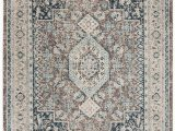 Memory Foam area Rug 8×10 Safavieh Phoenix Gray and Blue 8 X 10 area Rug & Reviews