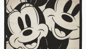 Mickey and Minnie Mouse area Rug Zulily Show Off Your Love for Your Favorite Characters