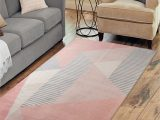 """Mid Century Modern area Rugs for Sale Rugsmith Memphis Blush Mid Century Modern Geometric area Rug 7 6"""" X 9 6"""" Walmart"""