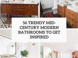 Mid Century Modern Bath Rug 56 Trendy Mid Century Modern Bathrooms to Get Inspired