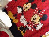 Minnie Mouse Bathroom Rug Mickey and Minnie Mouse Bathroom Decor