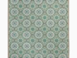 Mint Green area Rug 8×10 Safavieh Four Seasons Stain Resistant Hand Hooked Mint