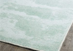 Mint Green area Rug 8×10 Transitional solid Woven Rug Shades Of Light