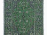 Modern Emerald Green area Rug $1320 8×10 Satya Rug