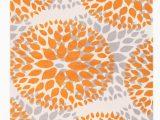 "Modern Floral Circles area Rug Modern Floral Circles orange 6 6""x9 area Rug Walmart"