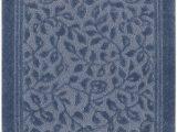 Mohawk Home Bathroom Rugs Mohawk Home Wellington Blue Floral Vine Bath Mat 5 X7 Blue
