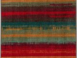 Mohawk Home Boho Stripe area Rug Mohawk Home Red Boho Stripe Accent Rug 2 6 X 3 10 Walmart